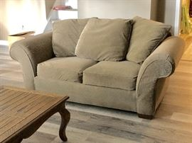 Sofa with loveseat