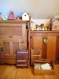 ANTIQUE FURNITURE: GRAND RAPIDS ICE CHEST AND MORE!!!