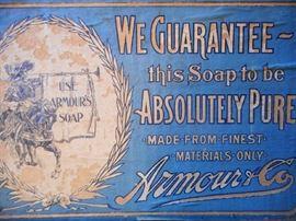 LABEL ON SOAP BOX