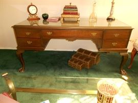 Executive Desk With Claw Feet