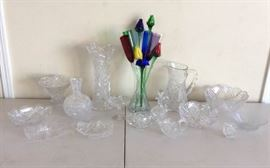 DDD004 Beautiful Crystal & Glassware