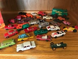 Vintage 1960's Hot Wheels Cars