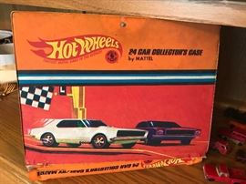 Vintage Hot Wheels Collectors Case