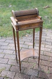 Vintage mini-roll top desk.