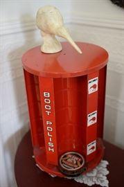 Vintage Kiwi Boot Polish Display.