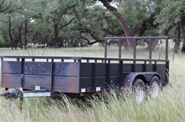 1. 14 ft trailer roustabout by Diamond c