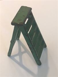 Antique Toy Cast Iron Ladder