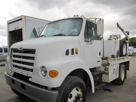 1 2001 Sterling Service Truck With Auto Crane Econ.
