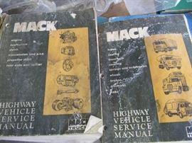 2 Mack Trucks Service Manuals COMPLETE REPAIR OF ...