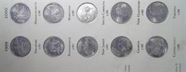 50 State Quarters, in Collection Book