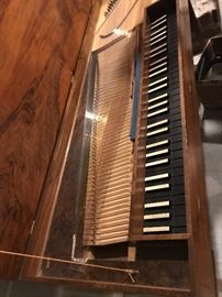 Antique Harpsichord or Clavichord by Hugh Gough