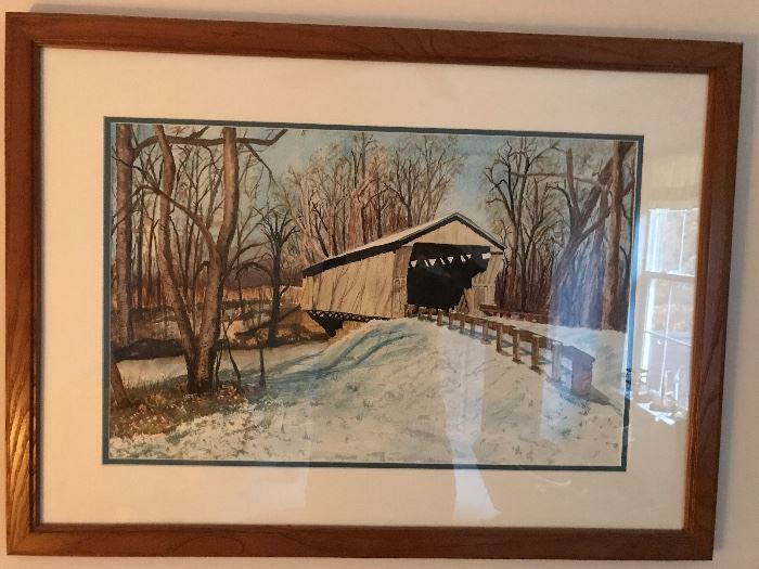 Water color-Marion Carr
