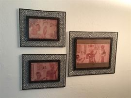 Egyptian Fresco Photos with Ornate Frames https://ctbids.com/#!/description/share/55743