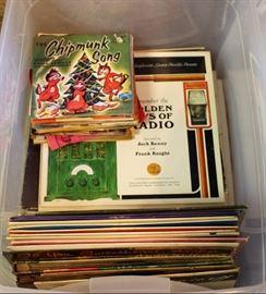 Albums & 45s.