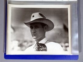 1941 Oklahoma Prison Penitentiary Rodeo Original Photographs Qty 23, Includes Photo of Slain Warden Jess Dunn & Boxer Henry Armstrong