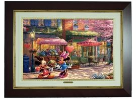 Thomas Kinkade Mickey and Minnie
