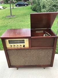 Griggs Vintage Stereo Cabinet