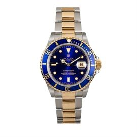 Rolex Two Tone Submariner