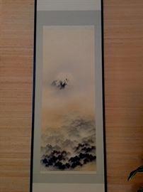 Japanese Scroll circa 1900