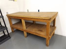 Wood Work Table