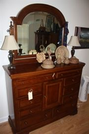 Very nice dresser made by Alexander Julien, came from Rich's.
