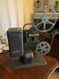 Vintage reel to reel projector