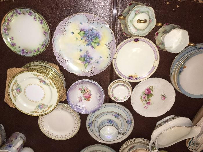 Hand painted/vintage china