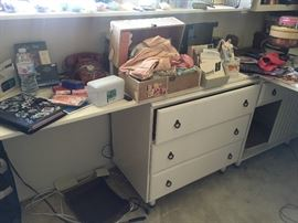 Stuffed craft room