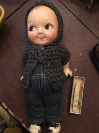 Antique Kewpie doll