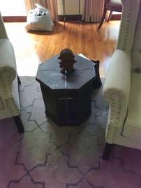 Octogonal side tables