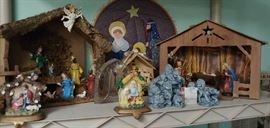 We have over 150 nativity scenes at last count.