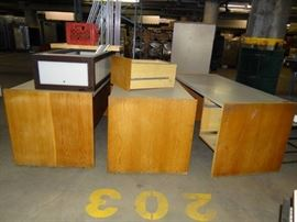 3 Desks and Misc.