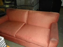 6FT Red Couch