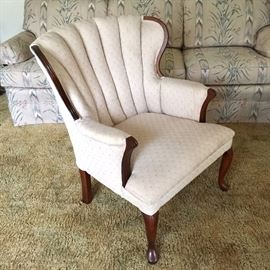 Vintage upholstered chair, excellent condition