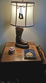 Awesome, and unique boot lamp