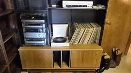 Vinyl and stereo equipment