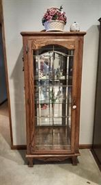 We have two of these curio cabinets