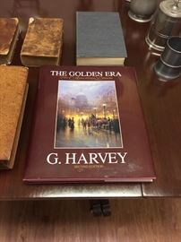 Signed G Harvey Book