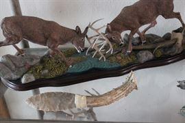 Arrowhead with antler