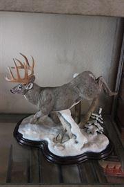 Stag/Buck Porcelain figurine