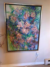 Marilyn Bendell 1921-2003  Oil on Canvas Michigan artist !