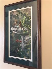 Signed and numbered Litho