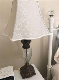 Modern lamp with lamp shade