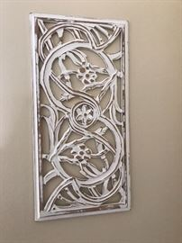 Decorative French style wall art.