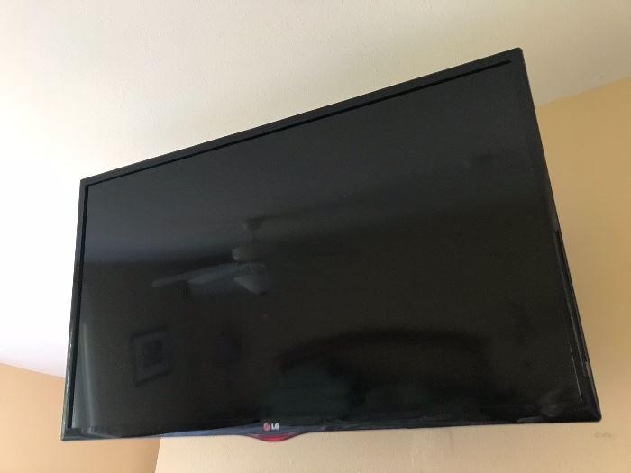 Flat Screen TV LG brand.
