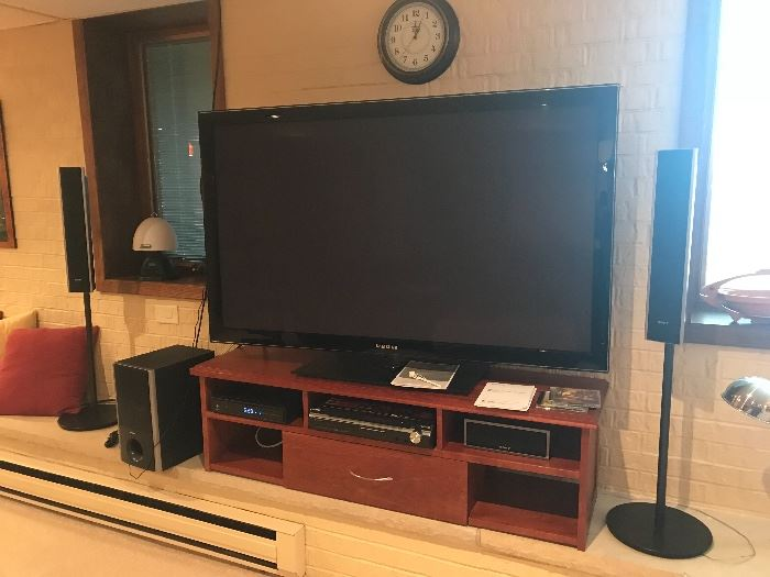 Entertainment system Sony surround sound.
