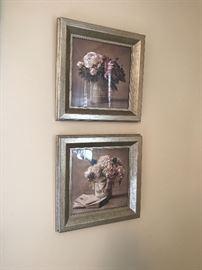 Floral prints.