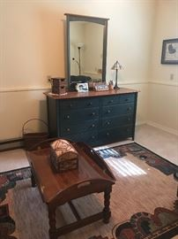 Chest of Drawers with mirror .