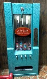 Vintage gum machine