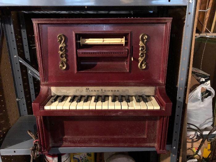 Children's player piano